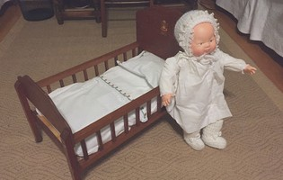 Doll Bed and Linens