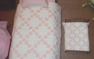 A is for Annabelle doll quilts