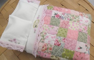 Dollhouse Miniature Bedding and Quilt